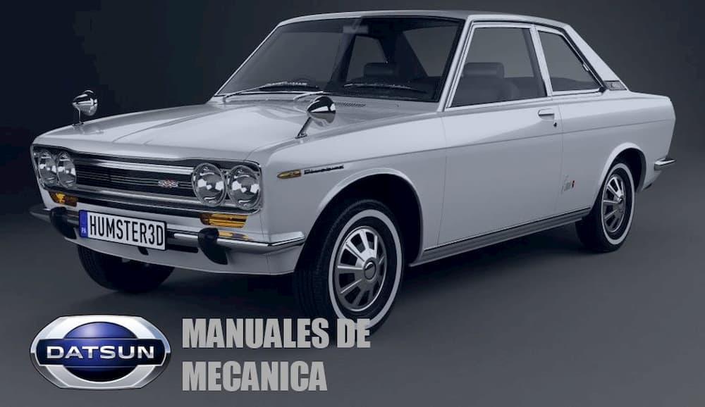Manuales de mecánica Datsun